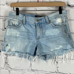 NWOT Lucky Brand The Cut Off Jean Shorts Sz 2